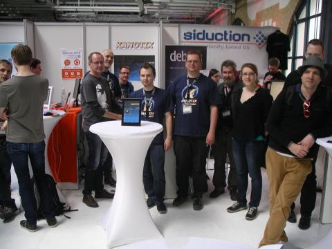 Kanotix at LinuxTag 2014